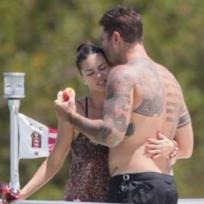 Adriana Lima ve Marco yeni sevgilileriyle