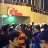 Sırp taraftarlar Galatasaraylılar'a saldırdı