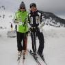 Üst yöneticilerin kayak keyfi