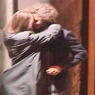 Hande Soral sevgilisiyle dudak dudağa