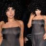 Lady Gaga tepeden tırnağa şeffaf