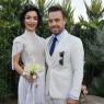 Merve ve Murat ikinci düğünü Çeşme'de yaptı