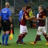 Salih Uçan, Roma'da ilk maçına çıktı