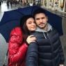Tolgahan Sayışman'dan sevgilisi Almeda Abazi'yi Roma sürprizi