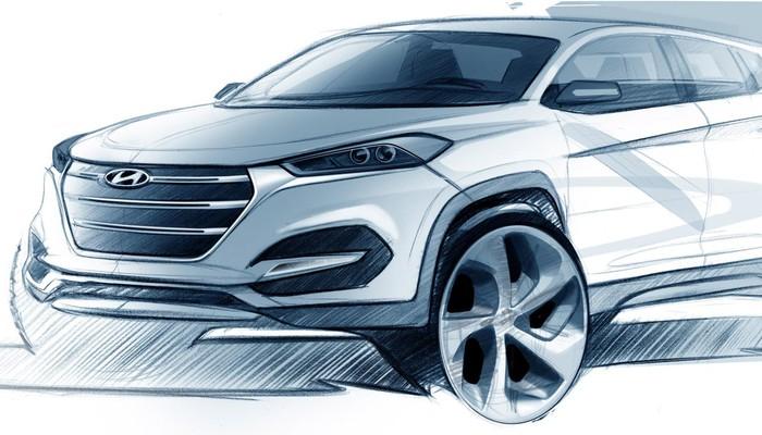 Hyundai Tucson'ın önizlemesi