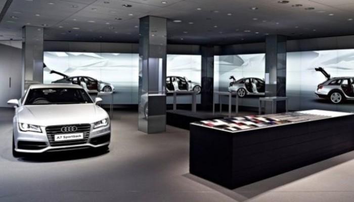 Audi showroomlarında boyut atlıyor