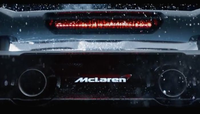 Yeni McLaren'e 675 hp'lik güç ünitesi