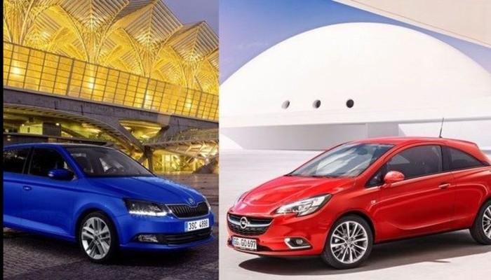 Skoda Fabia ile Opel Corsa karşı karşıya...