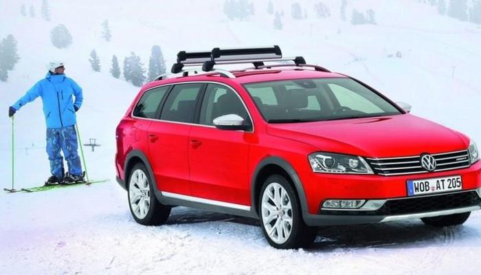 VW, Passat'ı araziye uyduruyor