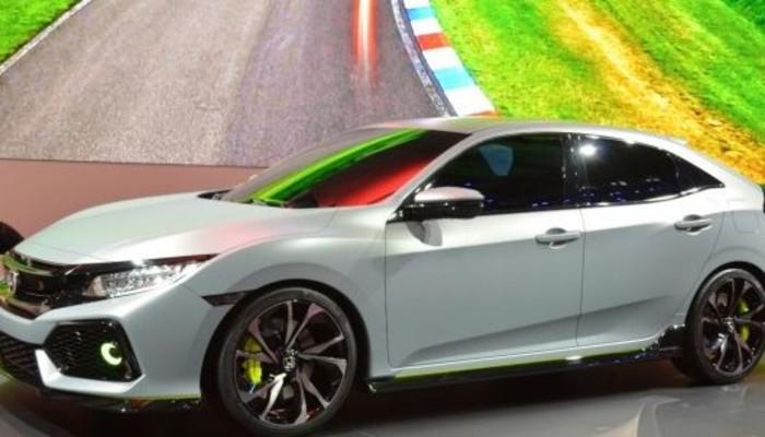 Cenevre'de yedi yenilikli Honda şov