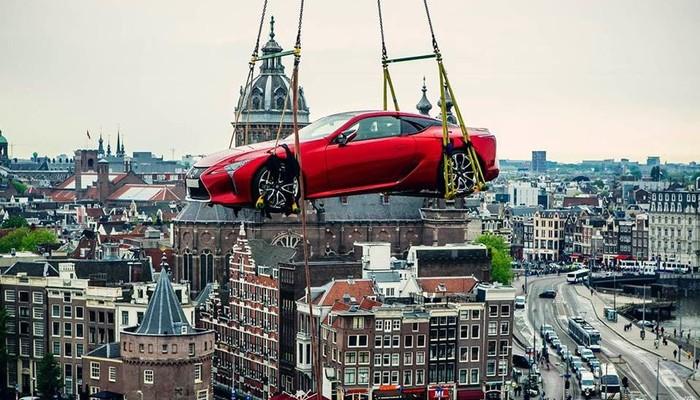 Lexus ile süper bir tur