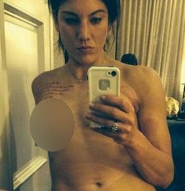 hope solo leaked pics № 153780