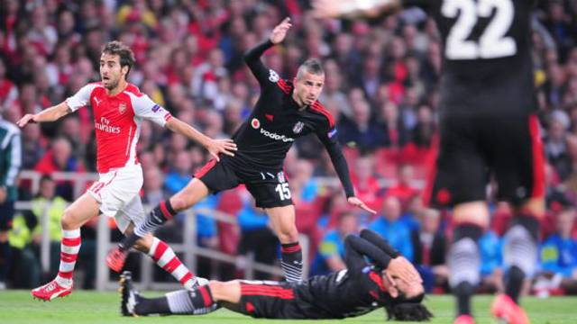 Arsenal 1-0 Beşiktaş Maçı Geniş Özeti ve Golü