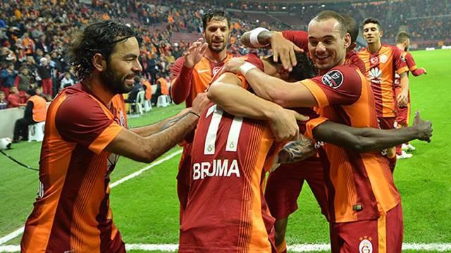 Galatasaray'ın zirve inadı sürüyor