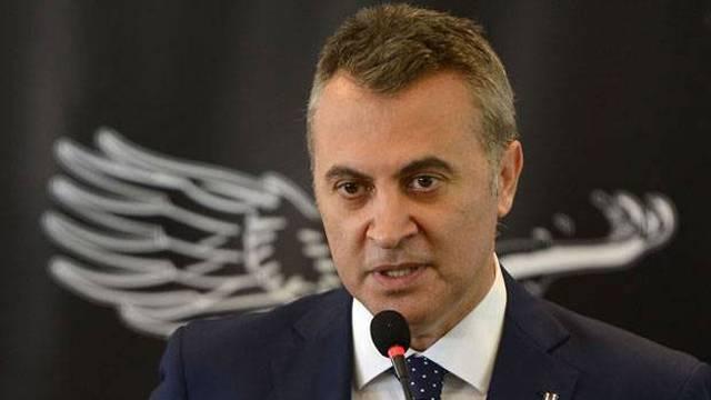 Beşiktaş Başkanı Orman kurayı değerlendirdi