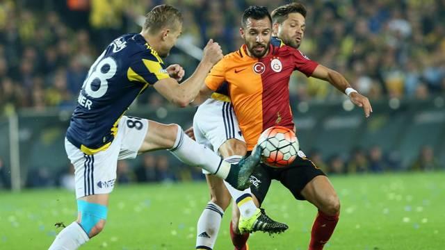 Fenerbah�e Galatasaray ma�� Dev derbide g�len ��kmad�