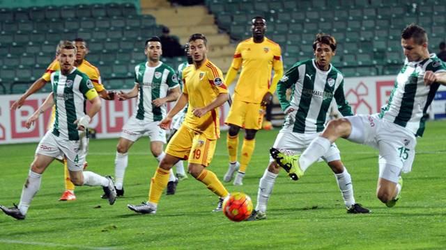 Bursaspor 1 - 2 Kayserispor