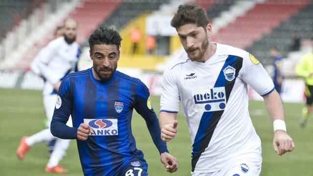 Gaziantep Büyükşehir Belediyespor 2 - 0 Kayseri Erciyesspor