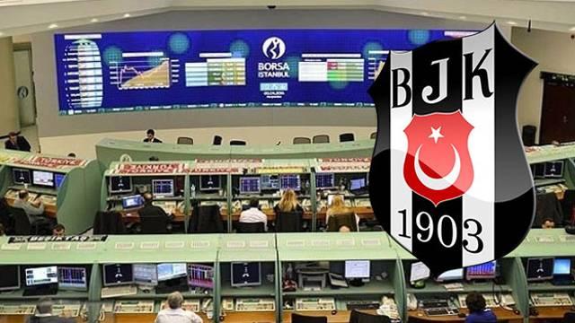 Beşiktaş borsada da durdurulamıyor