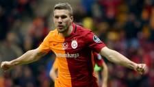 Galatasaray'a bir şok da Podolski'den