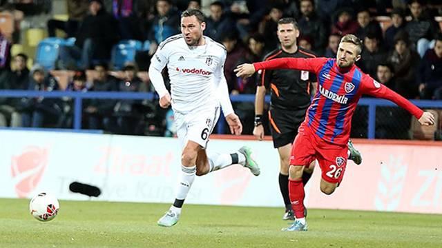 Beşiktaş, Tosic'te direkten dönmüş