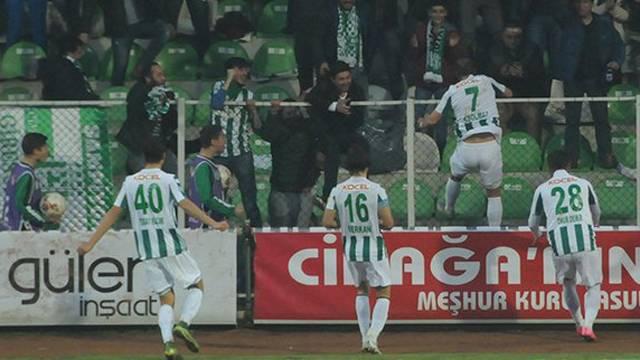 Giresunspor 3 - 1 Göztepe