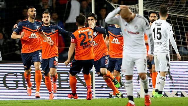 Beşiktaş Başakşehir'le 2-2 berabere kaldı