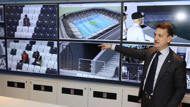Vodafone Arena'ya 20 milyon TL'lik güvenlik sistemi