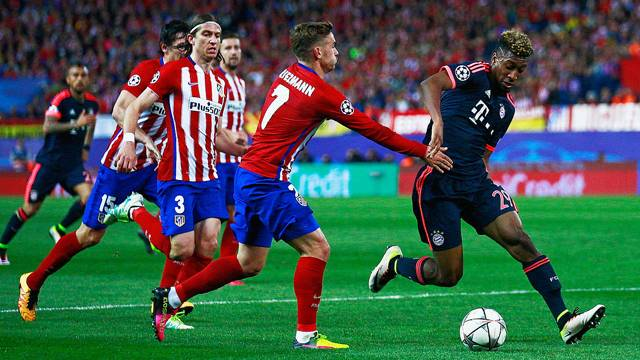 Atletico Madrid 1 - 0 Bayern Münih
