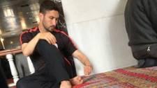 Sabri Sarıoğlu Cuma namazını Ulu Cami'de kıldı