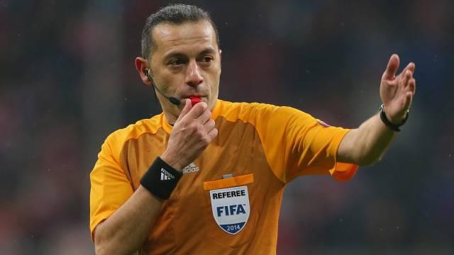 Cüneyt Çakır, Bayern - Atletico maçını yönetecek