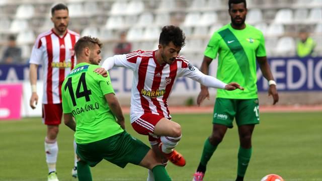 Medicana Sivasspor 1 - 1 Akhisar Belediyespor