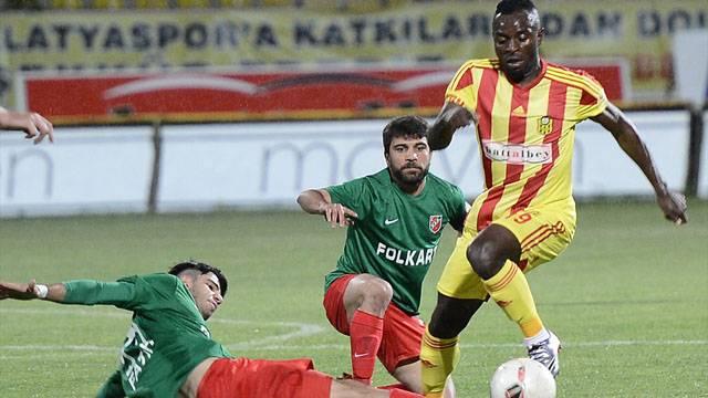 Alima Yeni Malatyaspor 3 - 3 Karşıyaka