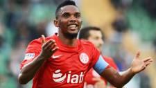 Antalyaspor 35'lik Eto'o'ya servet biçti