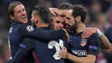 Şampiyonlar Ligi'nde ilk finalist Atletico Madrid
