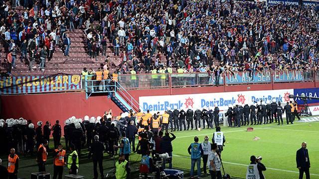 Trabzonspor'a verilen cezaya büyük tepki
