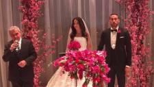 Cenk Tosun evlendi