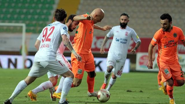 Multigroup Alanyaspor 1 - 0 Balıkesirspor