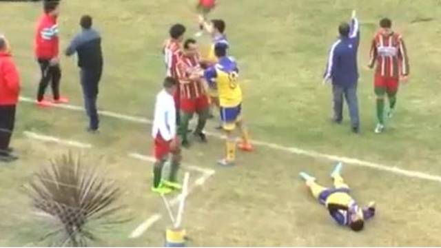 Arjantin'de futbol maçında ölüm