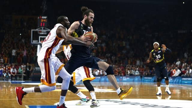 Galatasaray Odeabank - Fenerbahçe maçında olay