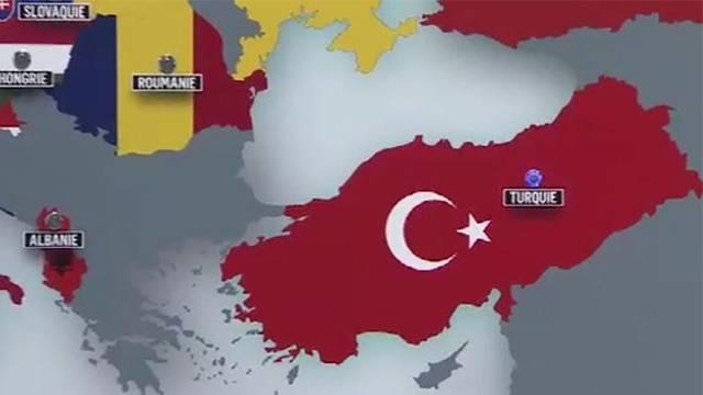 TRT'den harita skandalı!