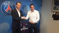 PSG'de yeni teknik direktör Unai Emery