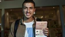 Fenerbahçe'nin yeni transferi Roman Neustadter İstanbul'da