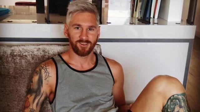 Messi yeni imajı herkesi şaşırttı