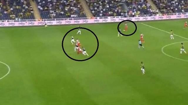 Fenerbahçelileri çıldırtan ofsayt pozisyonu