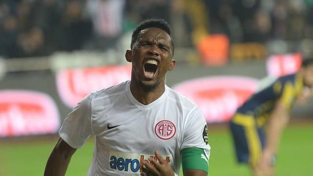 Samuel Eto'o, Antalyaspor kampından ayrıldı!