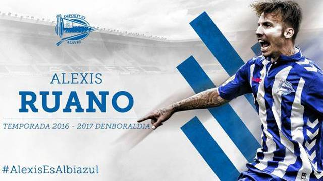Alexis Delgado Deportivo Alaves'e transfer oldu