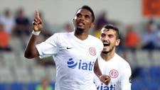 Eto'o bitti Antalyaspor tepki gösterdi