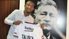 Anderson Talisca resmen Beşiktaş'ta