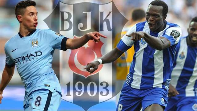 Samir Nasri ve Vincent Aboubakar Beşiktaş'ta